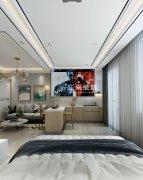 兰河新城45平一室现代风格