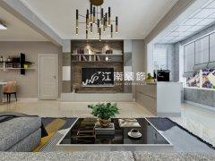 优越美域55平一室一厅现代